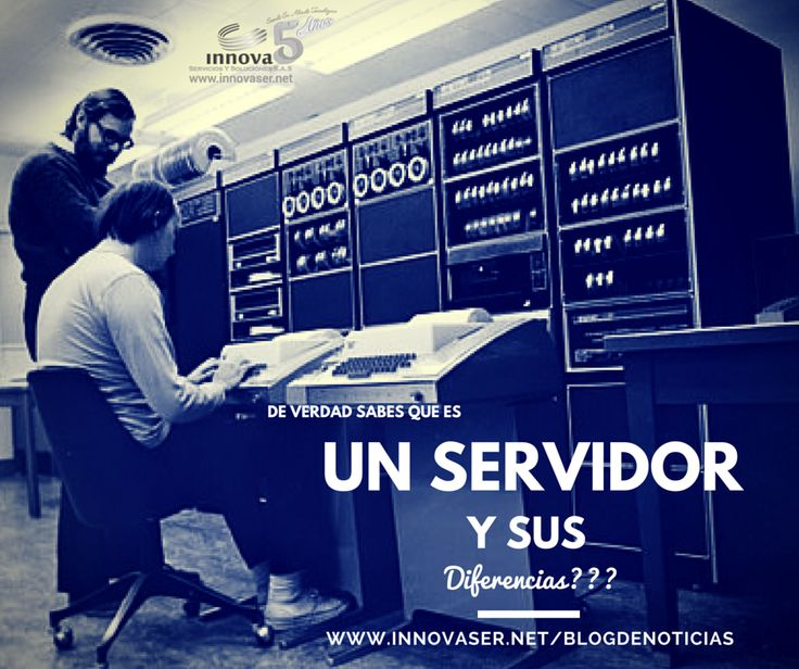 Sabes que es un servidor?