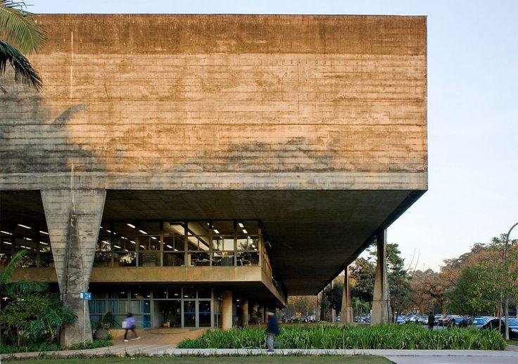 Clásicos de Arquitectura: Facultad de Arquitectura y Urbanismo, Universidad de Sao Paulo (FAU-USP) / João Vilanova Artigas y Carlos Cascaldi...