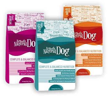 Perfectly Natural Dog- Senior, Puppy and Adult formulas