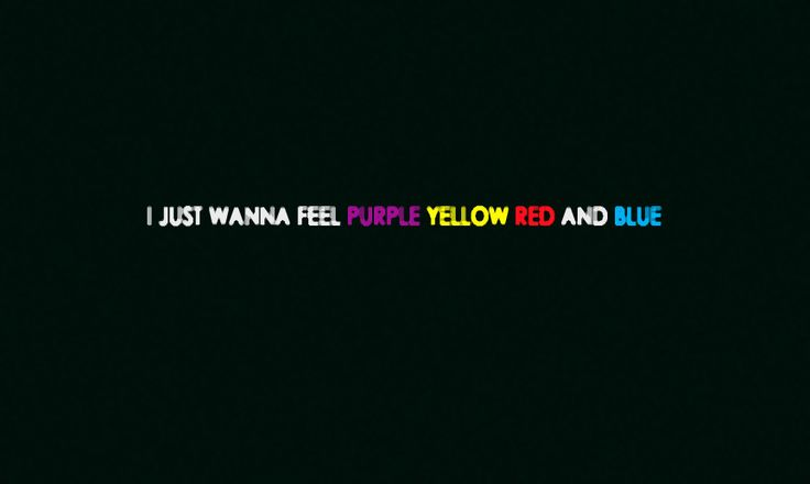 """""""Purple Yellow Red and Blue"""" by Portugal. The Man"""