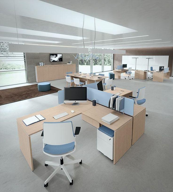 B.ZAGGIA ARREDAMENTI# Posti di lavoro- workstation DV 805 TREKO