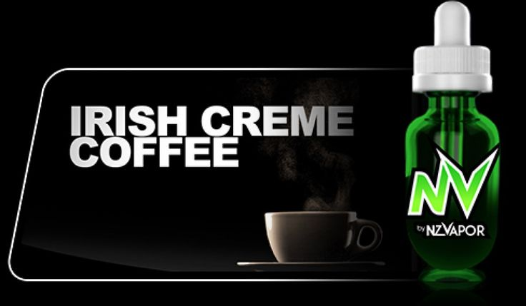 Irish Cream Coffee NV Juice (e-juice) will give you a very full and satisfying vape. The coffee flavour heightens the senses of your pallet followed closely by the rich, fragrant taste of top shelf Irish Whiskey. Delicious!  All products in the NV JUICE range are designed to offer the highest vapour production available.