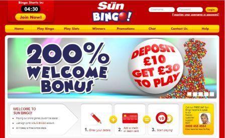 Sun Bingo is UK's favourite online bingo and slot games site and is one of the favourite destinations to play online.  http://www.slotsbonus.info/sun-bingo-slots/