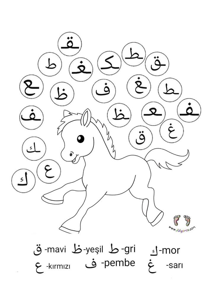 Elifba Basta Ortada Sonda Elif Ba Alistirmalari Boyama 2020 Boyama Sayfalari Ordu Arap Alfabesi