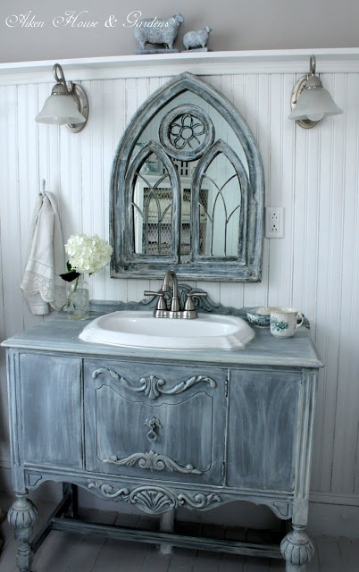 55 best images about small french country bathrooms on - Country french bathroom vanities ...
