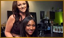 How to properly wear and remove your Halo Couture Extensions @Elle Marie Hair Studio #ellemariehairstudio