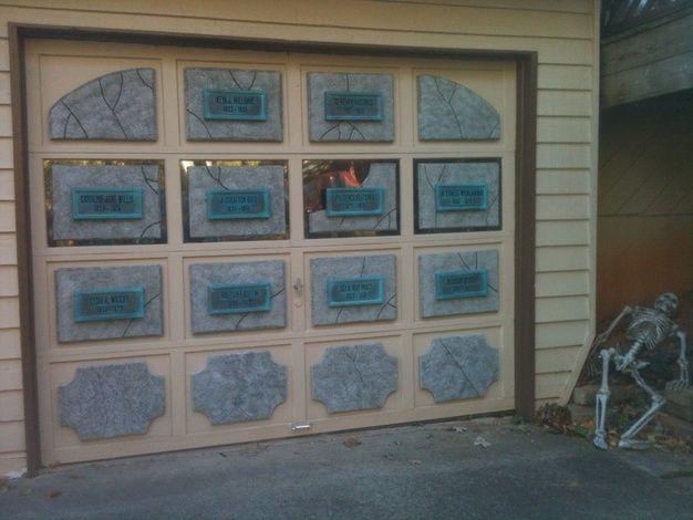 Garage door - mausoleum vault & 123 best images about Crypts and Mausoleums on Pinterest ... Pezcame.Com