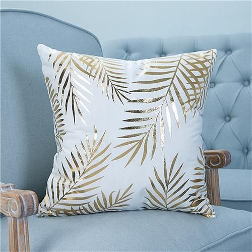 Features Great Accents For Living Room Game Room Beds Cars Etc Premium Quality Design To Make T Decorative Pillow Cases Gold Pillows Gold Throw Pillows