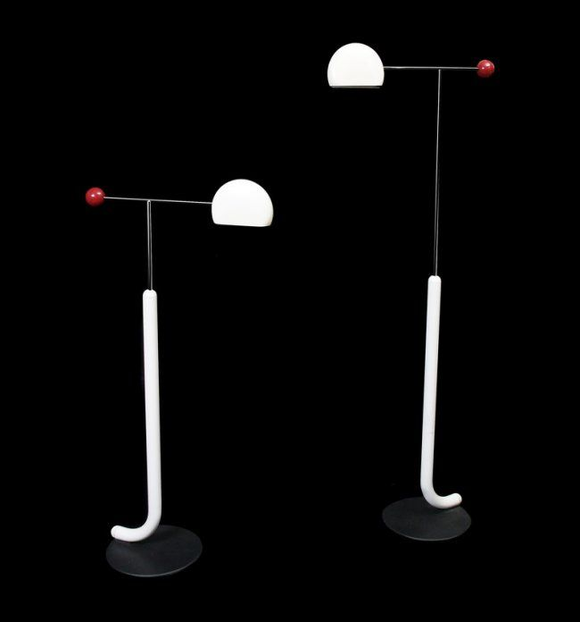 "TOSHIYUKI KITA for Luci Italia, ""TOMO"" floor lamps, 1990"