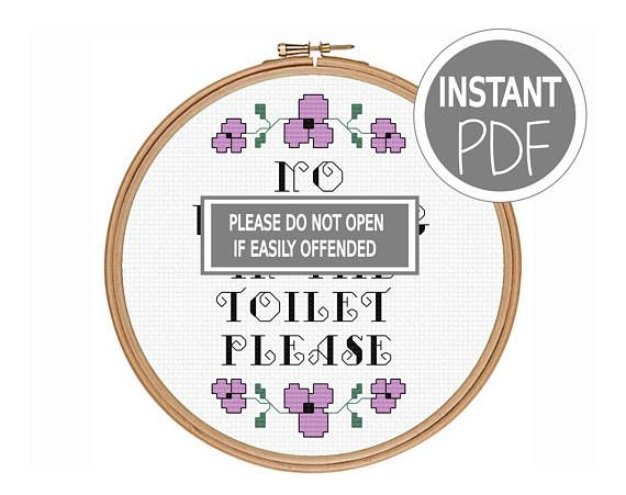 Check out this item in my Etsy shop https://www.etsy.com/uk/listing/519371588/subversive-cross-stitch-pattern-rude