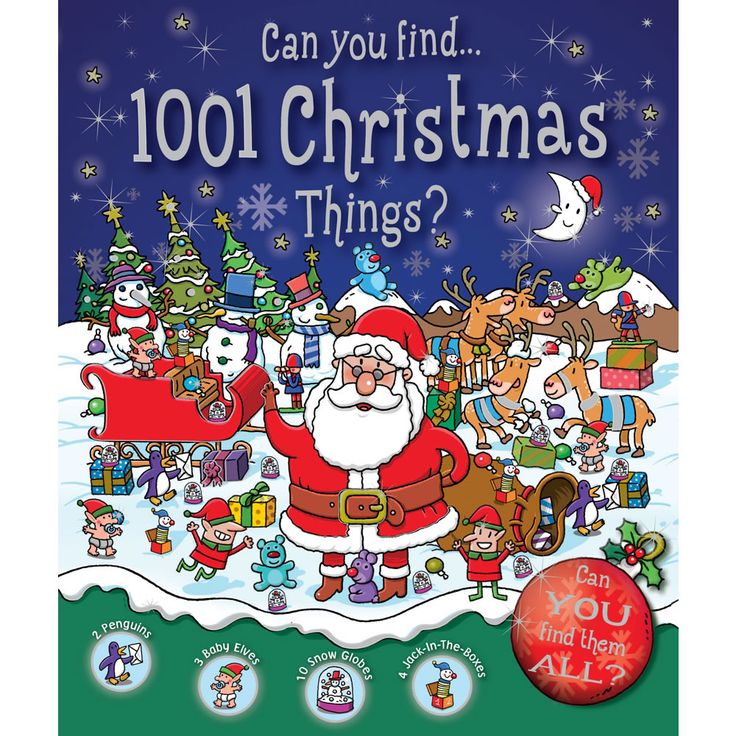 1001 Things To Find At Xmas Book