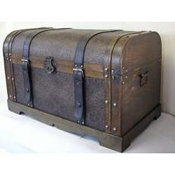 $124.99 @Overstock.com.com - Antique Victorian Wood Trunk Treasure Chest - This beautiful wood trunk features old fashioned hardware for an antique look. The decorative treasure chest is great for storage and decoration.  http://www.overstock.com/Home-Garden/Antique-Victorian-Wood-Trunk-Treasure-Chest/5217351/product.html?CID=214117 $124.99