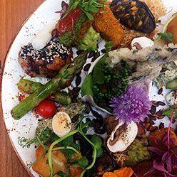 Brighton Restaurant Vegetarian UK Award Winning Terre a Terre, Restaurants in Brighton