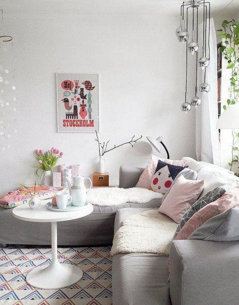 Der Frühling zu Hause \u2013 mit fröhlich frischen Pastellfarben in 2018