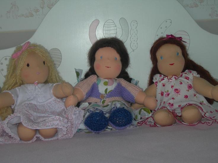 Bambole di ispirazione Waldorf