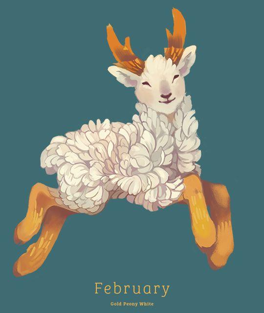 failed tea spirit. eventually became this one http://happydorid.tumblr.com/post/107308693654/february-gold-peony-white