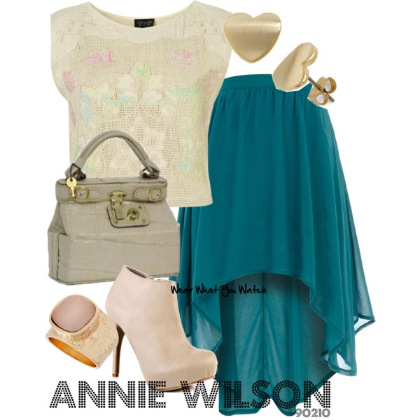 Inspired by 90210 character Annie Wilson played by Shenae Grimes.
