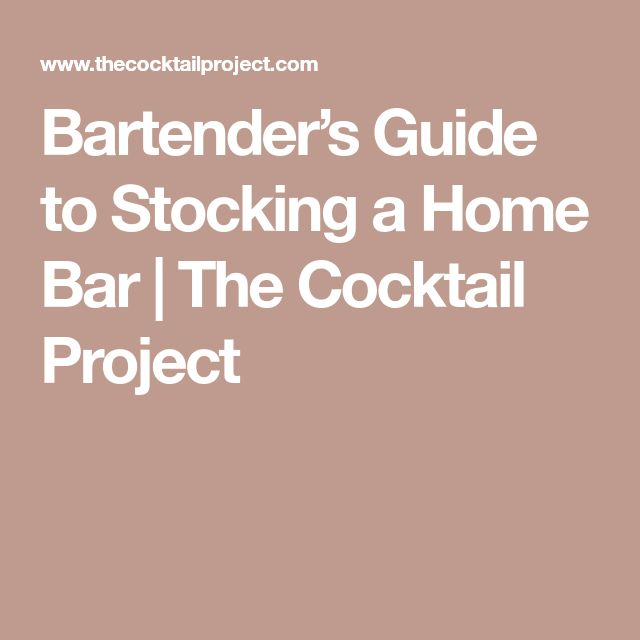 bartender the right mix guide