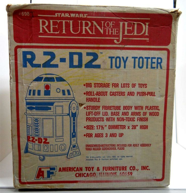 R2-D2 Toy Toter Toy Box