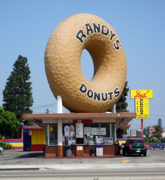 Randy's Donuts - Inglewood - actually saw this one!