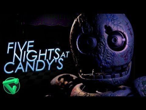 FIVE NIGHTS AT CANDY'S: CHESTER THE CHIMPANZEE - NOCHE 2 | iTownGamePlay - YouTube