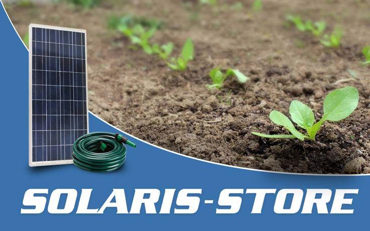 Arrosage et irrigation solaire - kit autonome alliant panneau solaire et pompe à eau - SOLARIS-STORE
