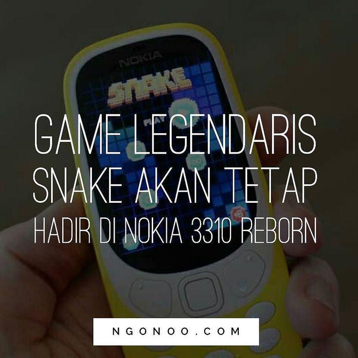 https://ngonoo.com Selain tetap menghadirkan kemampuan baterai yang tahan lama Nokia 3310 versi reborn juga akan tetap hadirkan game mobile legendarisnya yaitu Snake.  Versi terbaru game Snake pada Nokia 3310 edisi 2017 ini mempertahankan format 2D gaes hanya saja dengan tampilan lebih berwarna dan lebih artistik jika dibandingkan dengan tampilan monokrom pada versi 1997.
