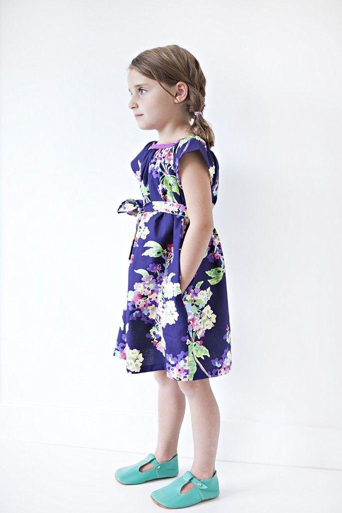 Free girls dress pattern - Sewing in No Mans Land   Sew
