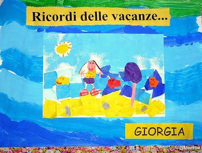 Maestra Caterina: Ricordi delle vacanze
