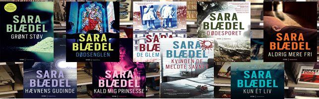 Sara Blædel er kendt som krimidronningen og det er velfortjent. Vi giver dig her et overblik over hendes bøger, omtale og trailere, kig med og vær klar til bankende hjerter, overraskelser, spænding og uhygge.