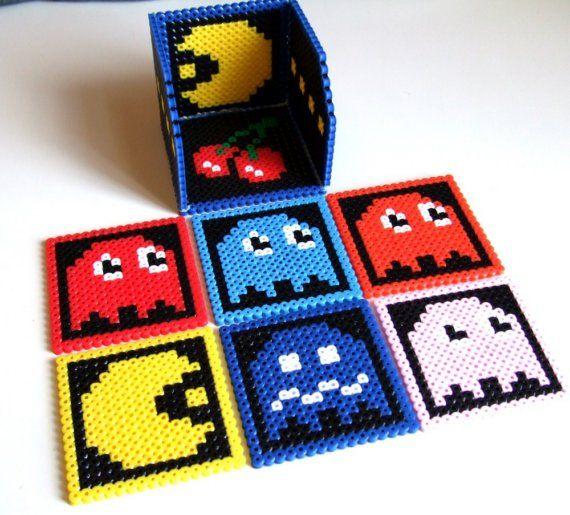 Pacman Coaster Set Set de 6 sous-verres et boîte de par lostmitten