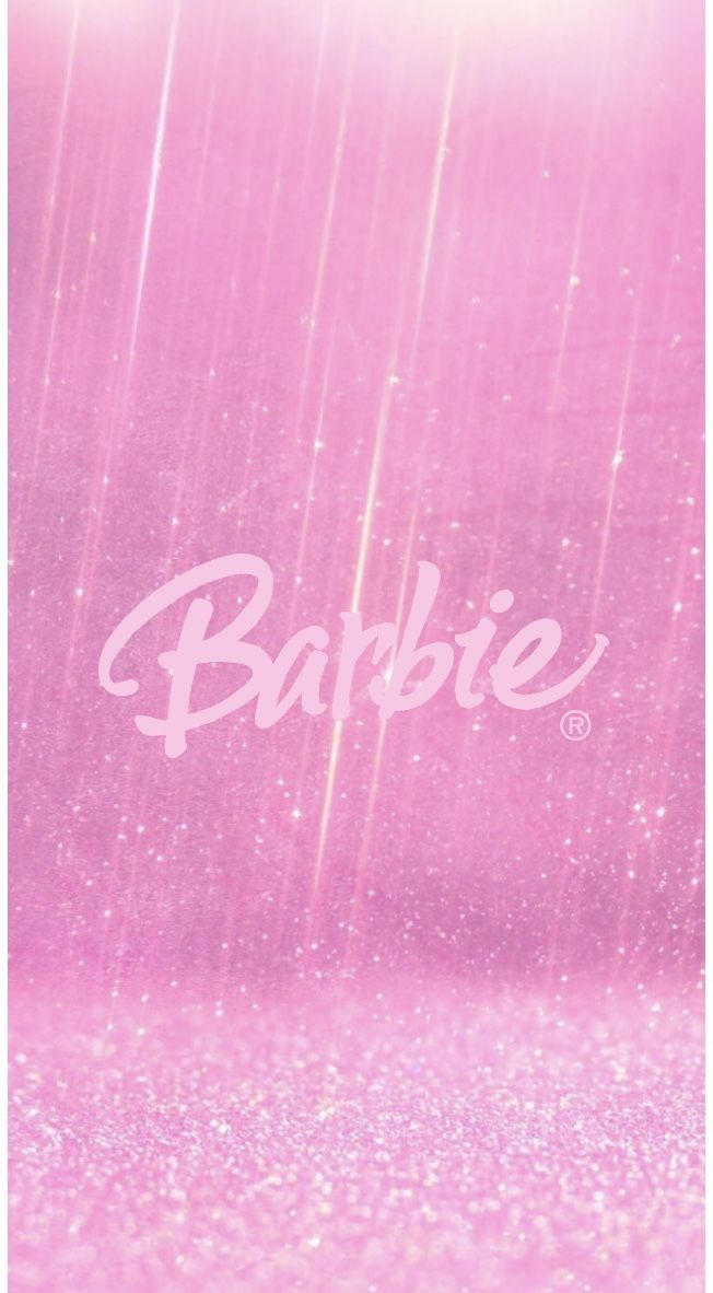 Barbie Background Pink Wallpaper Iphone Pink Tumblr Aesthetic Pink Glitter Background