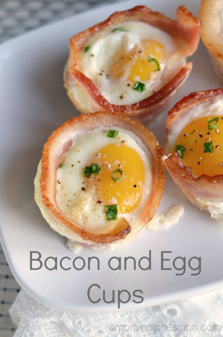 This easy bacon and egg cup recipe is delicious and takes just a few minutes to put together. Its perfect for breakfast or brunch.