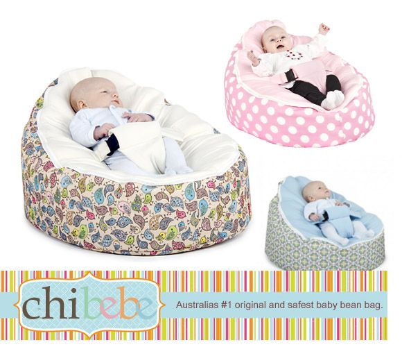 Baby Beanbags...I'm pretty sure I pinned this more because *I* want to sit in one right now.
