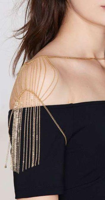 Mayana Fringe Shoulder Chain