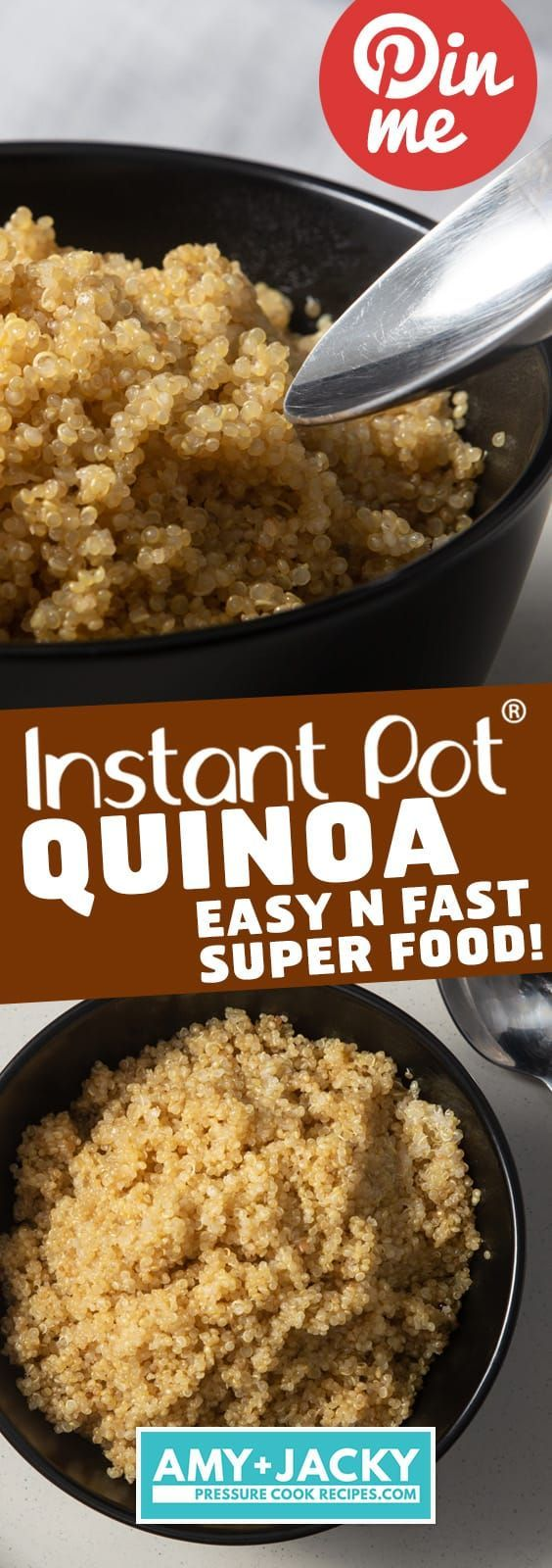Fast, Easy way to cook Perfectly Fluffy, TastyInstant Pot Quinoa! Nuttysuper…