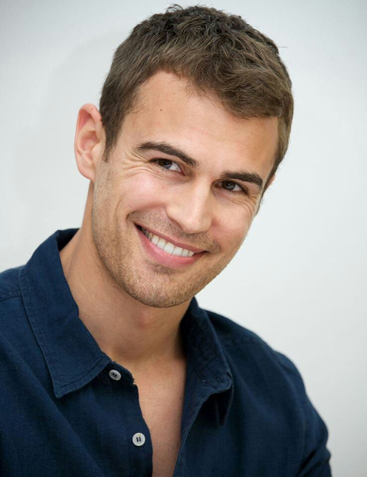 And the Sexiest Man Alive Award goes to Theo James ♥ That is all.