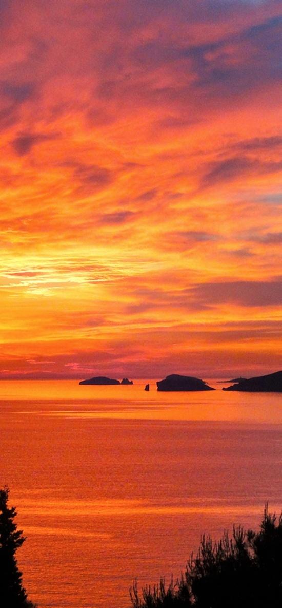 Spectacular sunset...