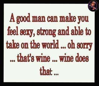 Wine is not so much my thing, but it made me smile