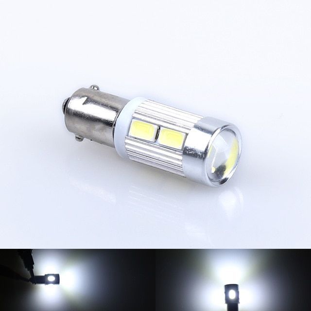 1pcs H6w Bax9s Bulbs 10 Led 8w Parking Sidelight White For Bmw 3 Series F30 F31 F34 Car Light Source Parking Light Review Car Lights Bmw 3 Series Bulb