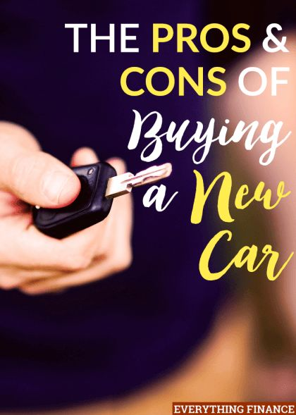 Assess the pros, cons, and financial incentives of buying a new car before eliminating it as a possibility as it can actually be a better value.