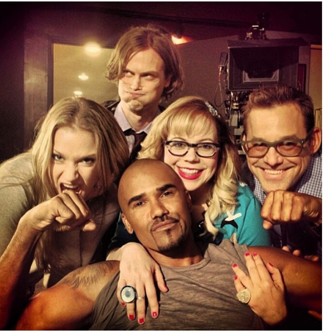 Some of the Criminal Minds Cast being goofy :-)