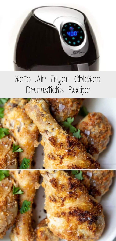 This Keto Air Fryer Chicken Drumsticks Recipe makes a