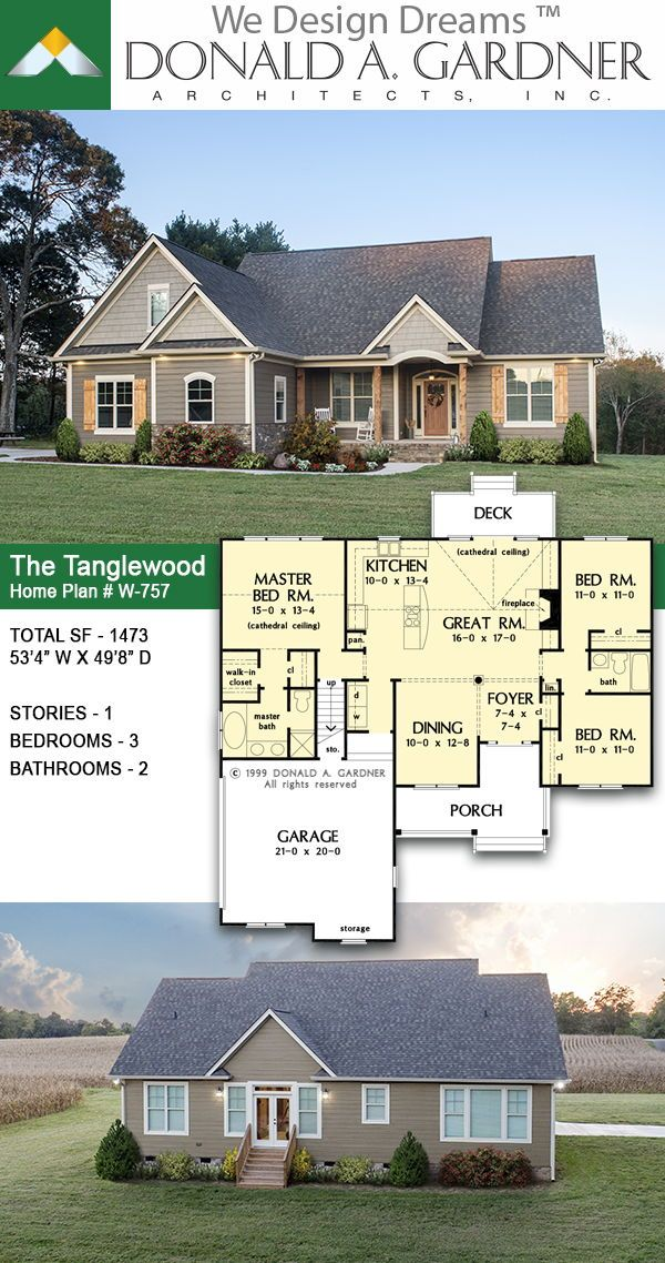 The Tanglewood House Plan 757 Form And Function Blend Wonderfully Together In This Arts And Craft Arts And Crafts Interiors House Plans Summer Arts And Crafts