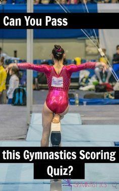 Can you pass this gymnastics scoring quiz?