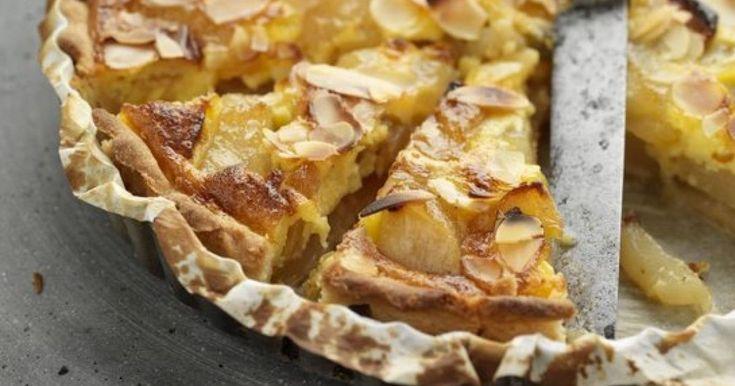 Francúzsky hruškový koláč - dôkladná príprava krok za krokom. Recept patrí medzi tie najobľúbenejšie. Celý postup nájdete na online kuchárke RECEPTY.sk.