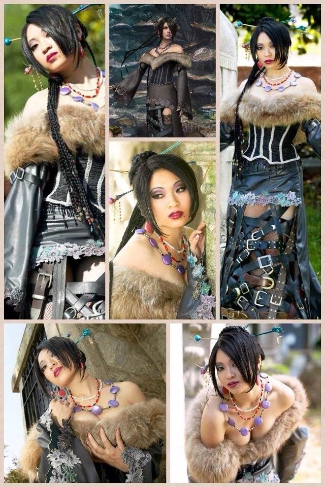 Lulu - Final Fantasy 10 cosplay by Yaya Han