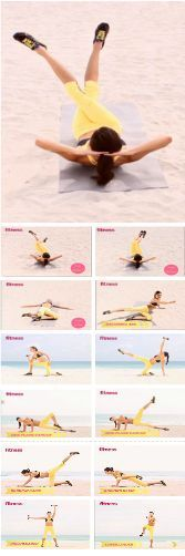 The Two-Week Ab Makeover Workout/ Get yourself in the best shape of your life with w
