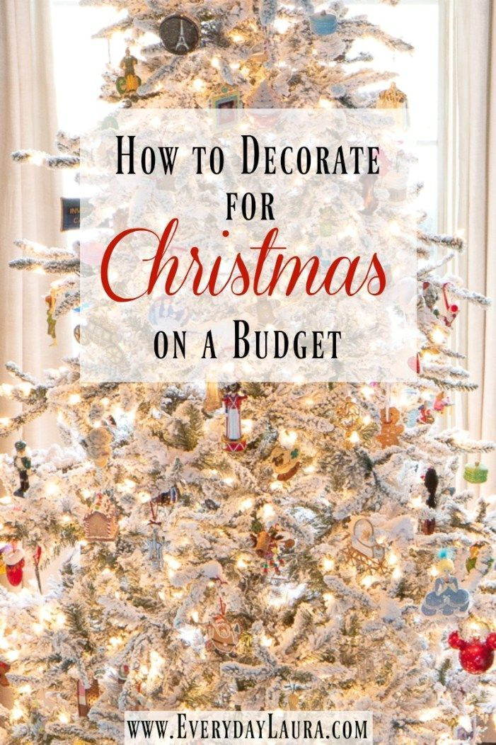 How To Decorate For Christmas On A Budget Budget Holiday Decor