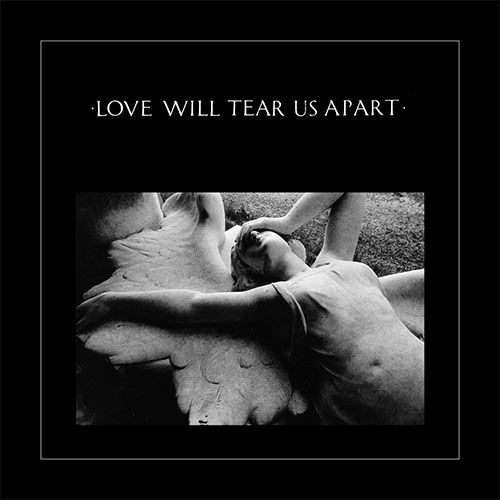 FAC 23, Love Will Tear Us Apart, 27 Jun 1980, design by Peter Saville.
